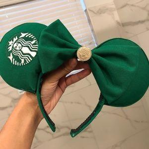 Starbucks Coffee Inspired Disney Parks Mouse Ears
